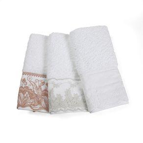 Jogo-2-Lavabos-Trussardi-100--Algodao-Imperiale-Bordado-Branco-Sortido