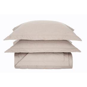 Colcha-Queen-Trussardi-2-Porta-Travesseiros-300-Fios-Cetim-Raffinato-Nocciola