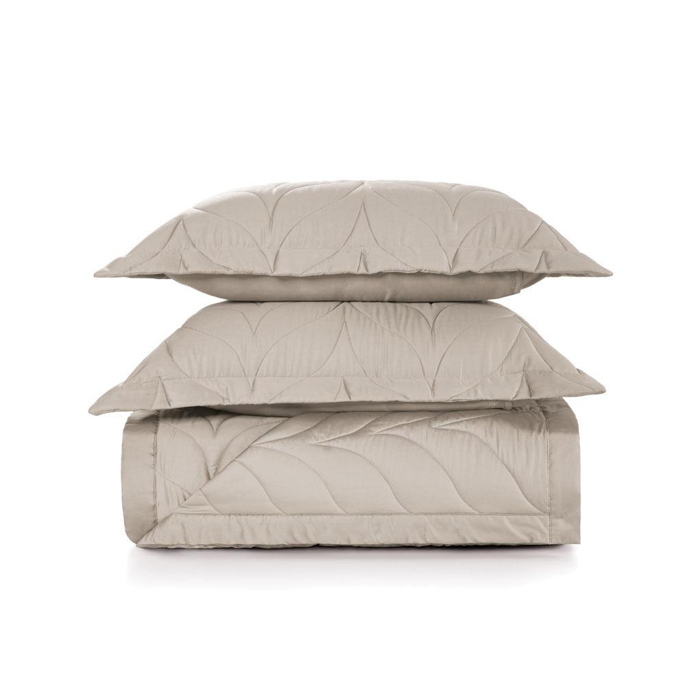 Colcha-Casal-Trussardi-2-Porta-Travesseiros-300-Fios-Cetim-Grasso-Nocciola