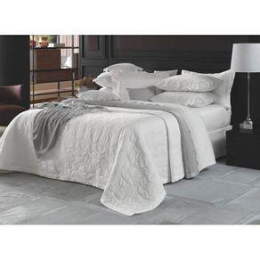 Colcha-Casal-Trussardi-2-Porta-Travesseiros-300-Fios-Cetim-Baronessa-Branca