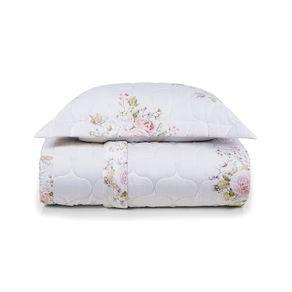 Colcha-Solteiro-Trussardi-2-Porta-Travesseiros-200-Fios-Cetim-Flore