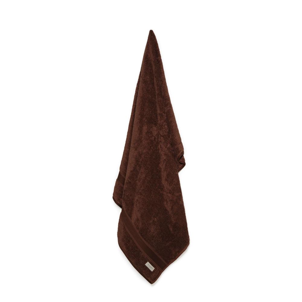 Toalha-de-Banho-Trussardi-100--Algodao-Egipcio-Egitto-Elegance-Cioccolato