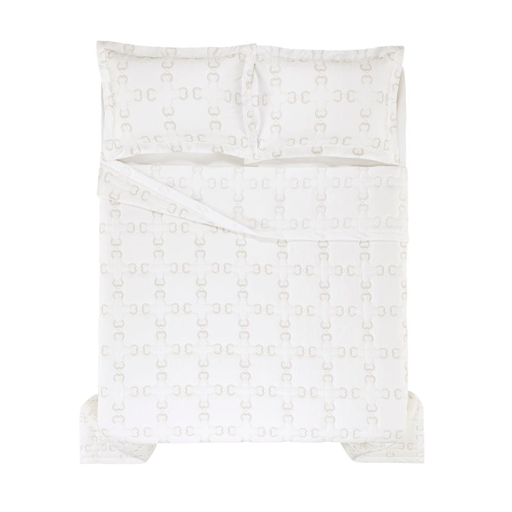 Colcha-King-Trussardi-2-Porta-Travesseiros-300-Fios-Cetim-Donatello-Branco--Legno