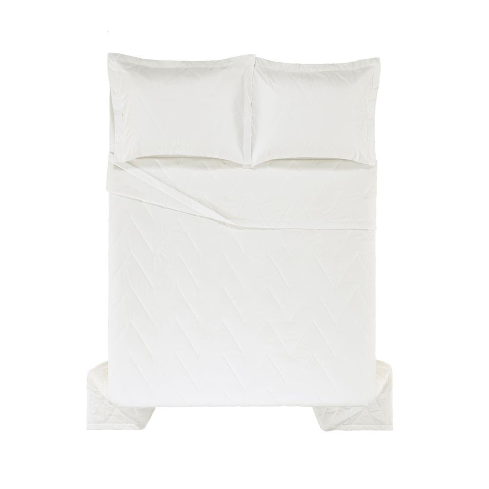 Colcha-Queen-Trussardi-2-Porta-Travesseiros-200-Fios-Percal-Terenzi-Branco