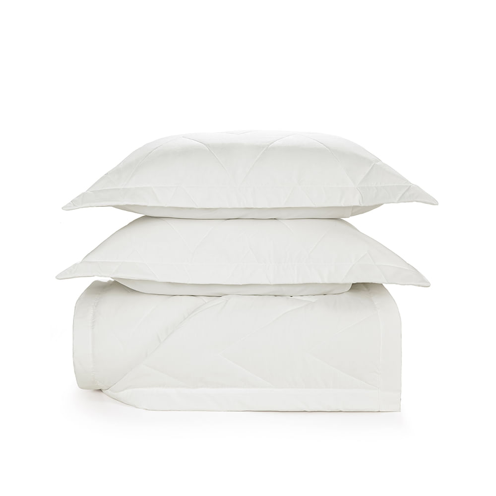 Colcha-King-Trussardi-2-Porta-Travesseiros-200-Fios-Percal-Terenzi-Branco