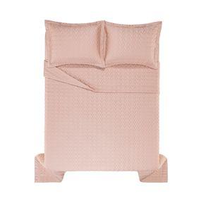 Colcha-Super-King-Trussardi-2-Porta-Travesseiros-300-Fios-Cetim-Spiazzo-Rosa-Perla