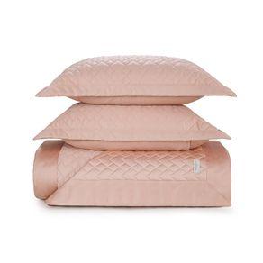 Colcha-Queen-Trussardi-2-Porta-Travesseiros-300-Fios-Cetim-Spiazzo-Rosa-Perla