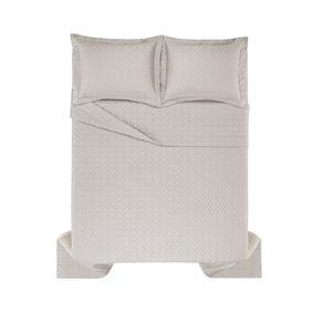 Colcha-King-Trussardi-2-Porta-Travesseiros-300-Fios-Cetim-Spiazzo-Marmo