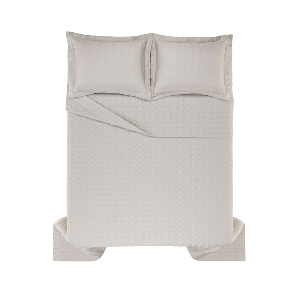 Colcha-Super-King-Trussardi-2-Porta-Travesseiros-300-Fios-Cetim-Spiazzo-Marmo