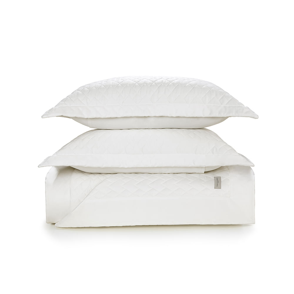 Colcha-King-Trussardi-2-Porta-Travesseiros-300-Fios-Cetim-Spiazzo-Branco