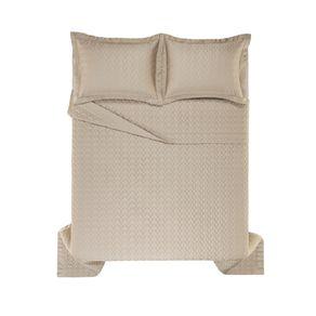 Colcha-Queen-Trussardi-2-Porta-Travesseiros-300-Fios-Cetim-Spiazzo-Nocciola