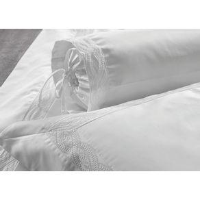 Almofada-Rolinho-Trussardi-1000-fios-100--Algodao-Egipcio-Milazzo-Branco