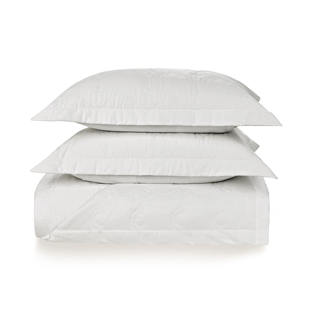 Colcha-King-Trussardi-2-Porta-Travesseiros-300-Fios-Cetim-Cellini-Branco