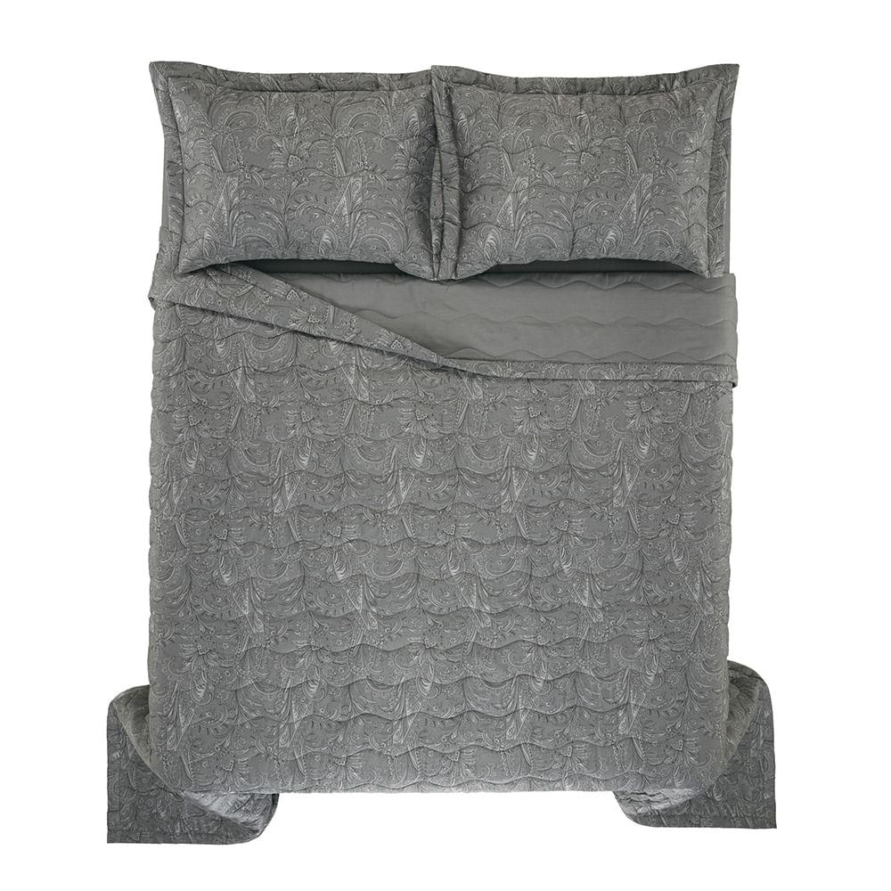 Colcha-Casal-Trussardi-2-Porta-Travesseiros-300-Fios-Cetim-Arenella