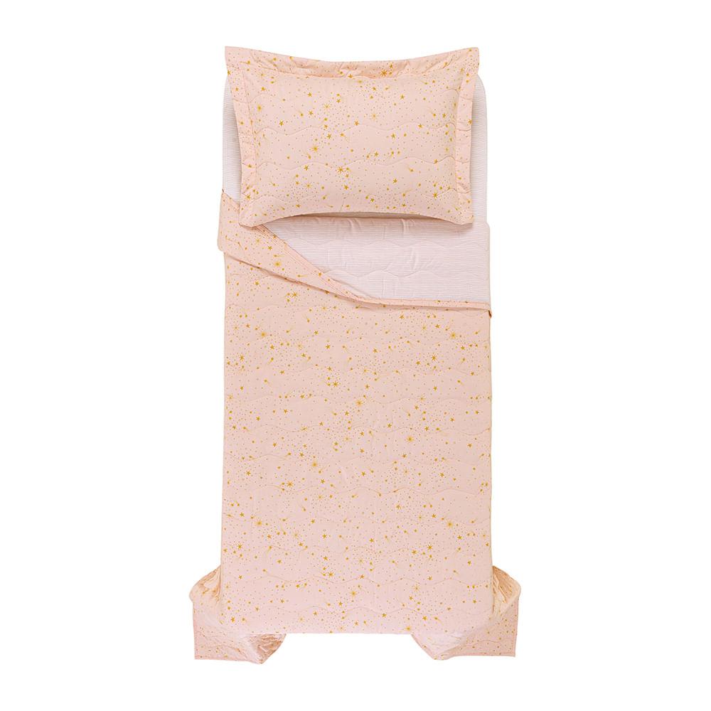Colcha-Solteiro-Infantil-Trussardi-2-Porta-Travesseiros-200-Fios-Percal-100--Algodao-Delicati