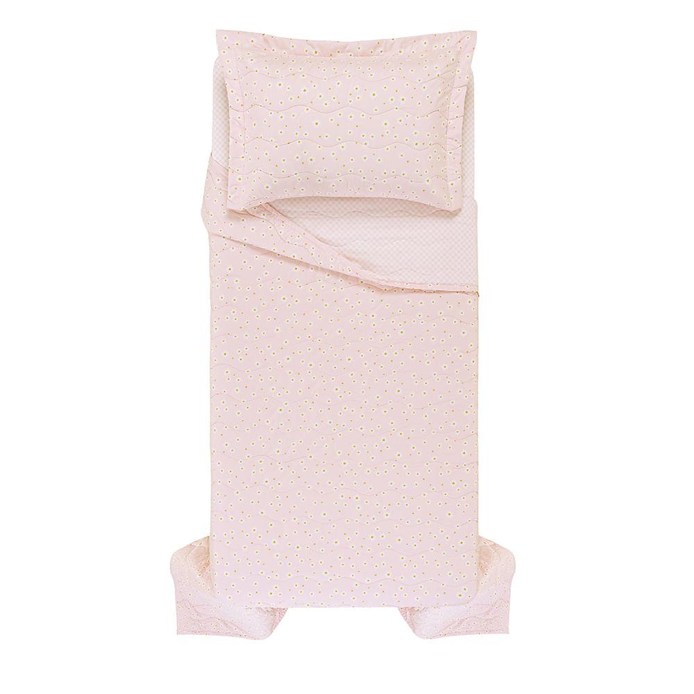 Colcha-Solteiro-1-Porta-Travesseiro-Infantil-Trussardi-200-Fios-Percal-100--Algodao-Margherite