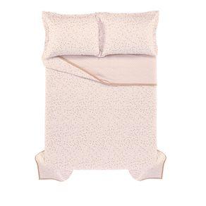 Colcha-Casal-Infantil-2-Porta-Travesseiros-200-Fios-Percal-100--Algodao-Trussardi-Marmi-